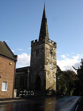 St Leonard's Church, Wollaton - St Leonard's Church, Wollaton