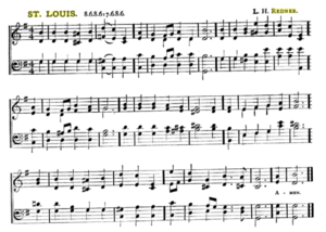 "O Little Town of Bethlehem - ""St Louis"" by Lewis Redner (from an 1896 hymnal)"