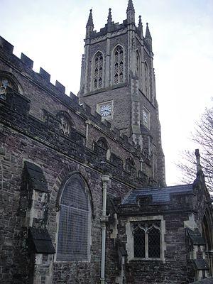 Church of St Mark, Newport - Image: St Mark's Gold Tops