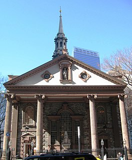 St. Pauls Chapel chapel in New York City