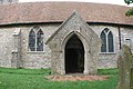 St Peter and St Paul, Newchurch, Kent - Porch - geograph.org.uk - 322919.jpg