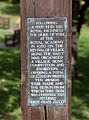 St Peters village sign plaque at Broadstairs St Peters Kent England.jpg