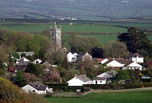 St Tudy - Image: St Tudy Village geograph.org.uk 788054