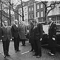Staatsbezoek president Nyerere van Tanzania, aankomst president Nyerere in Amste, Bestanddeelnr 917-6719.jpg