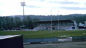 Stade Charles-Mathon - Image: Stade Mathon tribune