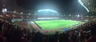 Pakansari Stadium - Pakansari Stadium during football match between Indonesia vs Thailand in 2016 AFF Suzuki Cup