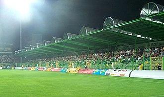 2014–15 Ekstraklasa - Image: Stadion gks belchatow