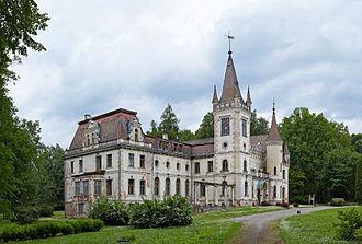 Gulbene Municipality - Image: Stameriena manor 2013 02