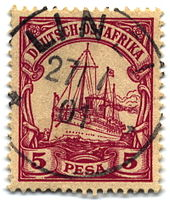Postage stamps and postal history of German East Africa ...