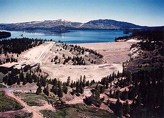 Sierra County, California - Image: Stampede Dam