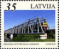 Stamps of Latvia, 2012-26.jpg