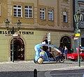 Staré Město, Celetná, velotaxi.jpg