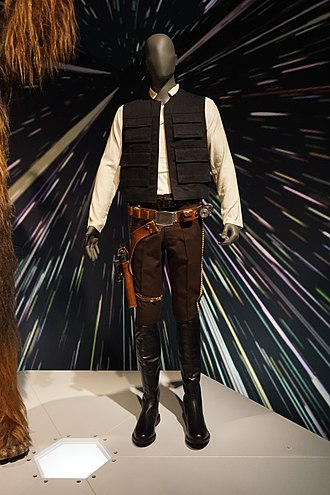 Han Solo - Han Solo's costume and blaster from Episode VI