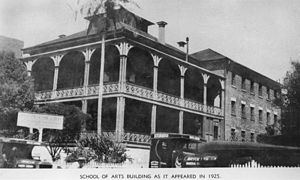 Brisbane School of Arts - School of Arts building in Brisbane, 1925