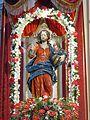 Statua del San Salvatore 2016 con corona votiva Pazzano.jpg