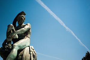 Teseo - Statue of Theseus, Syntagma Square, Athens.