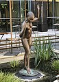Statue of nude standing woman in the courtyard of The Port Office, Brisbane.jpg