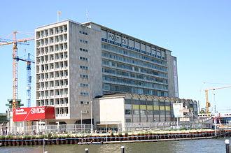 Stedelijk Museum Amsterdam - Temporary location of the Stedelijk Museum in the building Post CS