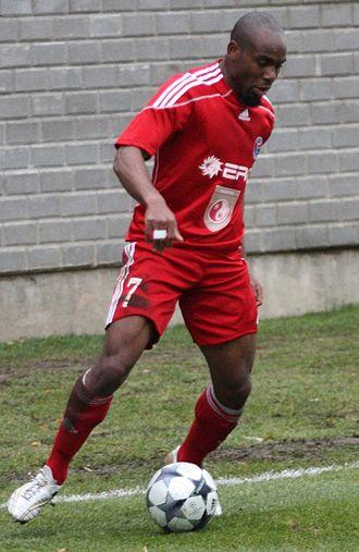 Stephen Ademolu - Ademolu with Ekranas in 2009