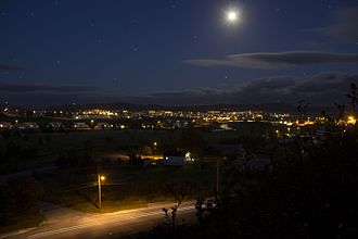 Stephenville, Newfoundland and Labrador - Stephenville at Night