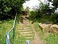 Steps on footpath. - geograph.org.uk - 502269.jpg