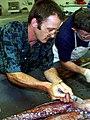 Steve O'Shea injecting formalin.jpg