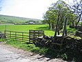 Stile and footpath near Horton Beck - geograph.org.uk - 709439.jpg