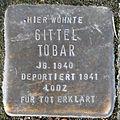 Stumbling block for Gittel Tobar (Bobstraße 2)