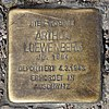Stolperstein Leopoldstr 22 (Rumbg) Arthur Loewenberg.jpg