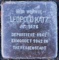 Stolperstein Saalfeld-Saale Wiegandstraße 1 Leopold Katz.jpg