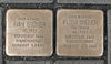 Stolpersteine für Ivan und Flora Grüner