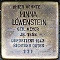 Stolpersteine Höxter, Minna Löwenstein (Westerbachstraße 5).jpg
