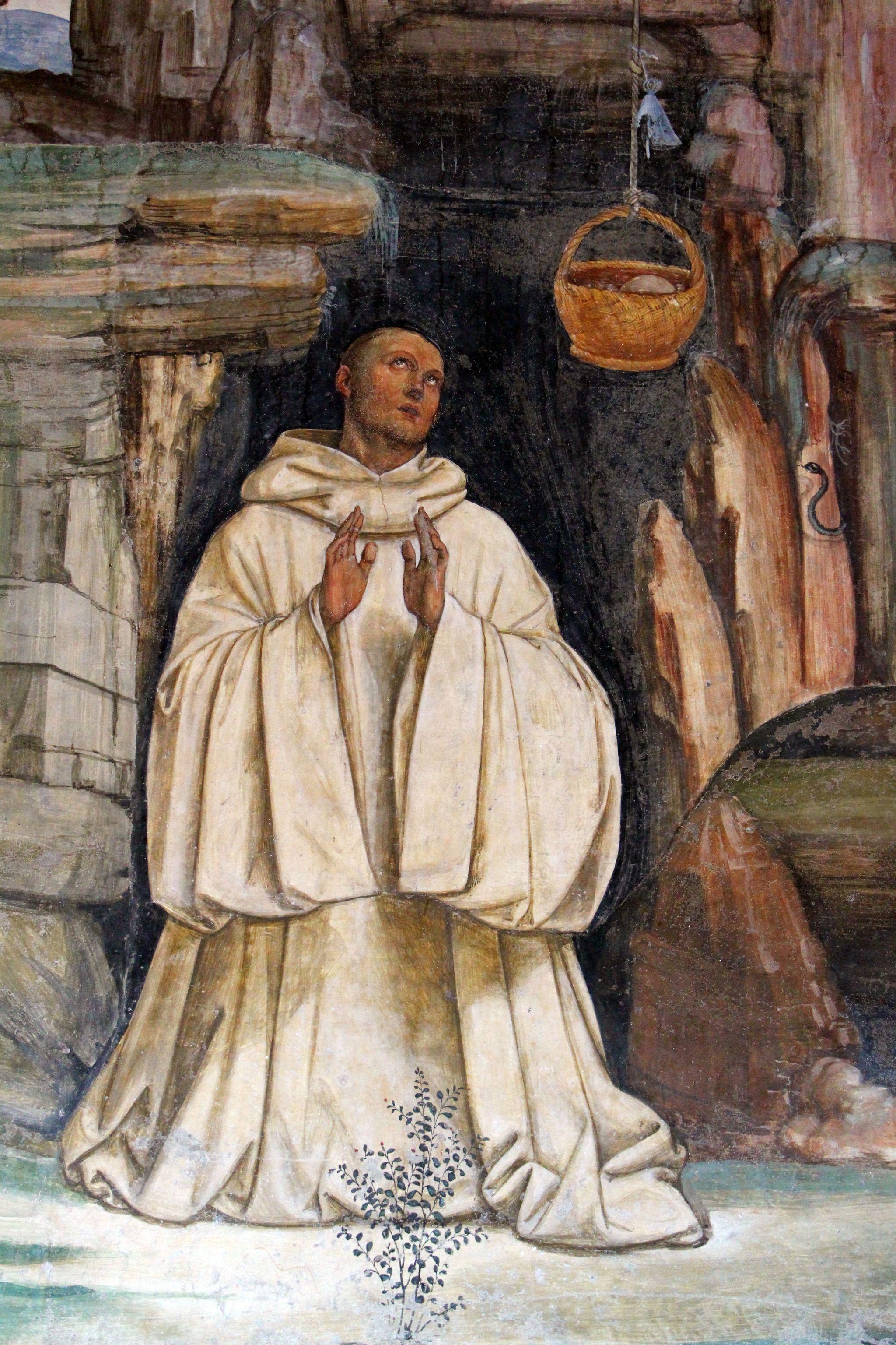 Storie di s. benedetto, 05 sodoma - Come lo dimonio rompe la campanella 04