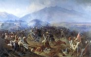 Storm of the fortress of Akhty 1848