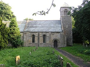 Stoven - Image: Stoven (Suffolk) St Margaret's Church geograph.org.uk 68600