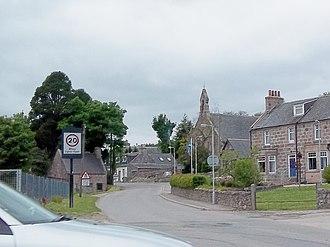 Strachan, Aberdeenshire - Image: Strachan view looking west 2013