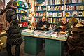 Strasbourg Dominique Rey et Michel Lonsdale Librairie Oberlin 10 avril 2013.jpg