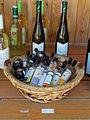 Street stall. Palinkas, liqueurs and wines. - Batthyány street, Tihany.JPG