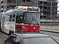 Streetcars on the Queen Street bridge over the Don River, 2014 12 03 (15) (15757595079).jpg