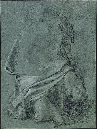 Assumption of the Virgin (Cerasi Chapel) - Image: Study for the Assumption of Cerasi Chapel