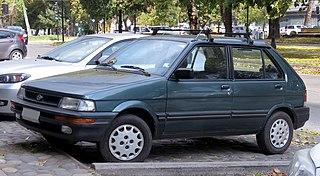 Subaru Justy Motor vehicle