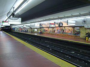 Entre Ríos - Rodolfo Walsh (Buenos Aires Underground) - Image: Subte Entre Rios