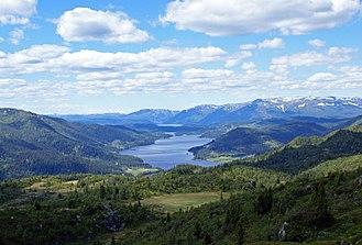 Telemark - Summer landscape in Vinje, Upper Telemark