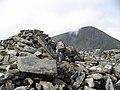 Summit Cairn, Beinn Liath Mhor Fannaich - geograph.org.uk - 49691.jpg