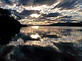 Sunset over Port Cygnet.jpg