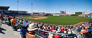 Surprise, Arizona - Image: Surprise Stadium Panorama