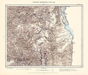 'Akbara - Image: Survey of Western Palestine 1880.04
