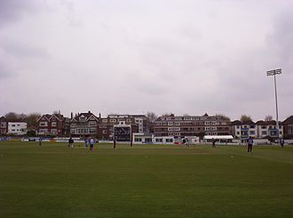 Sussex County Cricket Club - Sussex field against Derbyshire at Hove on 24 April 2005