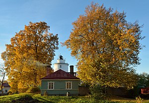 Sauna - Sauna of the Suurupi rear lighthouse (Estonia), built in 1896.