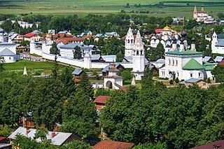 Suzdal Town in Vladimir Oblast, Russia